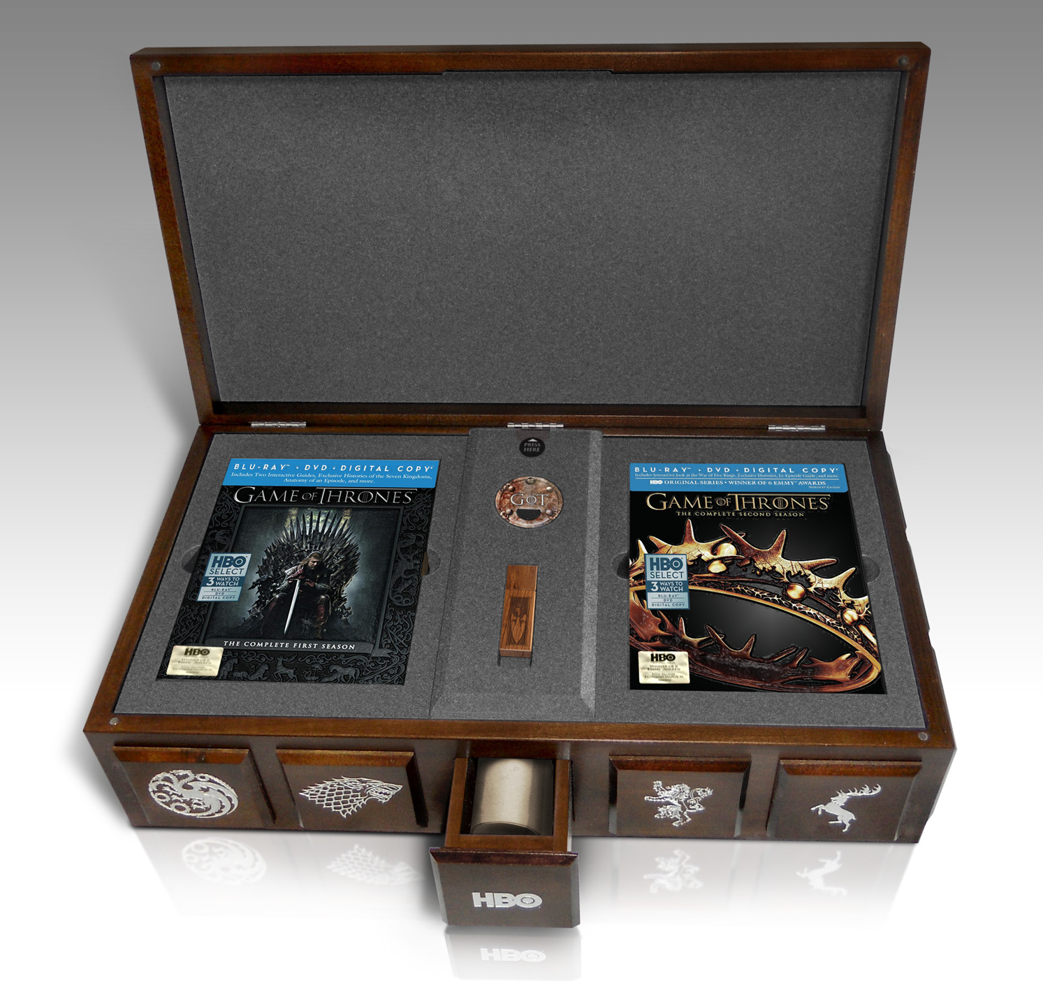 A box of influence game of thrones social media and the uncertain quest fo - Game of thrones objet ...