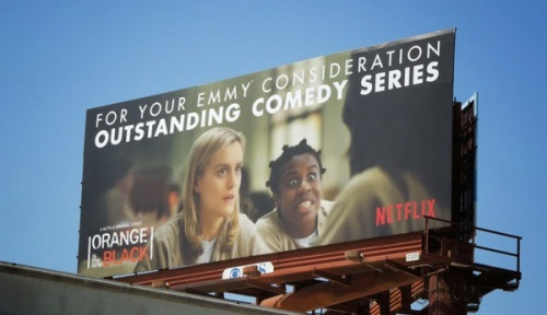 Orange new black Emmy 2014 crazy eyes billboard